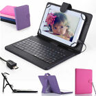 "Leather Case Cover USB Keyboard for 8"" inch Tablet Samsung Galaxy Note 8.0"