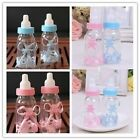 HOT SALE Pink Blue Lovely Style Baby Shower Game Favours Candy Box Bottle Gift-S