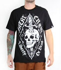 Fatal Clothing LIBERTY OR DEATH Mens Short Sleeve Graphic Screen Print T-shirt