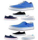 Men's Tokyo Tigers Canvas Pumps Plimsolls Espadrilles Trainers Shoes Size 6 – 12