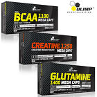 BCAA + Creatine Monohydrate + L-Glutamine 90/180 Caps. Amino Acids Muscle Growth
