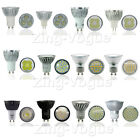 LED Bulbs 4w 5w 6w 7w 8w COB Hi-Power Spot Lights GU10 MR16 48smd 60smd Day Warm