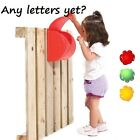 LETTER BOX / POST BOX - GARDEN CLIMBING FRAME / PLAYHOUSE ACCESSORY NEW  !!!