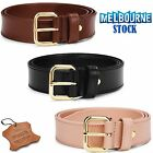 NEW Top Quality  Leather Ladies Designer Belts. Black Brown and Beige RRP $80AUD