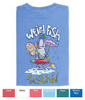 LADIES WEIRD FISH T SHIRT FESTIVAL DESIGN