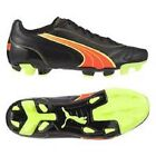 PUMA KRATERO  FOOTBALL BOOTS FIRM GROUND BLACK/FLUO UK ADULT SIZES 7 TO 11