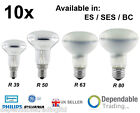 10 x SPOT REFLECTOR LIGHT BULBS LAMPS R39 R50 R63 R80 25w 40w 60w 100w SES ES BC