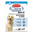 Bob Martin Clear Spot On Flea Treatment Cats Dogs Kills Fleas Ticks