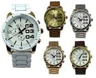 Superb Quality AN London Unisex Metal Band Wrist Watches & Gift Box