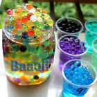 10bags WATER AQUA CRYSTAL SOIL BIO GEL BALL BEADS WEDDING VASE 12 color