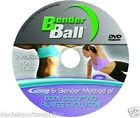 Bender Ball DVD choice of three Tiltles, new  ( no Ball included)