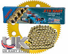 104 Link CZ O Ring 219 Pitch Kart Chain & Sprocket Deal Best Price