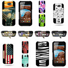 For BLU Studio 5.0 II - Dual Layer Hybrid Phone Case With Unique Design Picture