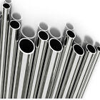 """1x Metre Stainless Steel Tube MIRROR POLISHED Options 1/2"""",3/4"""",1"""",1-1/2"""" & 2"""""""