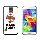 Bass Hunter - Fish Fishing Fisherman - Protective Case for Samsung Galaxy S5