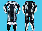 Motorbike Motorcycle CE Approved Leather Racing Bikers Suits One Piece