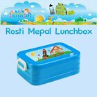 Lunchbox Maxi Rosti Mepal With Name and Desired Motif Bread bin Bread box large