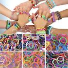 600Pcs Refill Loom Rubber Bands With 45 S Clips 3 Loom Tool DIY Bracelet