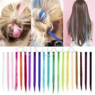 """30 Candy Colors Two Tone Straight Long 21"""" Clip in Hair Extensions Hair Pieces"""