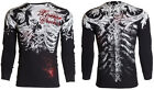 Xtreme Couture AFFLICTION Mens THERMAL T-Shirt PERSIMMON Biker MMA S-3XL $58 image