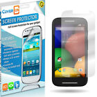 Lot New HD Clear Anti Glare LCD Screen Protector Cover for Motorola Moto E