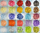 600 PCS FLOWER ROSE PETALS WEDDING PARTY TABLE DECORATION FLORAL CONFETTI