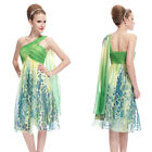 Ever Pretty New Green Graduation Printed Party Evening Cocktail Prom Dress 05048