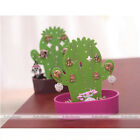 Fashion Women Jewelry Cactus Earring Necklace Display Stand Organizer Holder Set