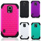 For Samsung Galaxy S5 Active Diamond Hybrid Cute Hard Soft Cover Case