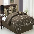 Covington Coffee 11 Piece Luxury Bed in a Bag