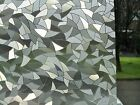 3D Etched Stained Glass Frosted Decorative Static Vinyl Privacy Window Film