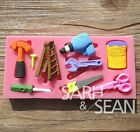 Toolkit silicone mold for fimo resin polymer clay fondant cake chocolate 0206