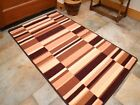 Small Large Brown Coffee Long Hall Runner Kitchen Floor Rugs Anti-Slip Back Mats