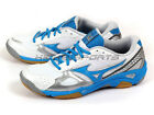 Mizuno Wave Twister 3 Womens Badminton Volleyball White/Blue/Silver V1GC147022