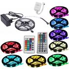 1m-30m LED RGB SMD5050 30/60 LEDs Streifen Strip Band Leiste + Controller+ Trafo