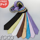Formal Ties for Kids Weddings Prom Neon Satin Ties Full Length Special Occasion