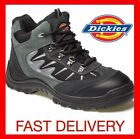 MENS DICKIES STORM LEATHER SAFETY BOOTS WORK HIKER ANKLE BOOT STEEL TOE CAP SIZE