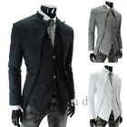 Luxury Men's Slim fit Two Button Fashion Suit Stylish Casual Blazer Coat Jackets