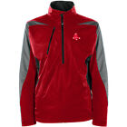 Antigua Men's Boston Red Sox Discover Long Sleeve 1/2 Zip Pullover
