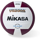Mikasa VQ2000 Micro Cell Indoor Volleyball Maroon/White