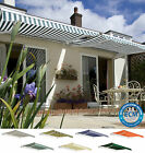 3.5m x 2.5m Primrose Patio Awning Manual Garden Canopy Sun Shade Retractable