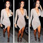 Clubwear Evening Party Dress Womens Sexy Slim Fit Cocktail Bodycon Bandage Dress