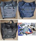 TRAVEL FLIGHT BAG WHEELED TROLLEY CASE HAND LUGGAGE CABIN SIZE FOLDABLE FOLDING