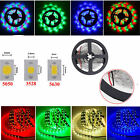 NoWaterproof 3528 5050 5630 5M 16.4FT SMD 300LED Strip Light White Warm Blue RGB