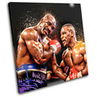 Mike Tyson Holyfield Sports SINGLE CANVAS WALL ART Picture Print VA