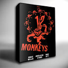 12 MONKEYS FILM POSTER GICLEE CANVAS WALL ART PRINT *Choose your size