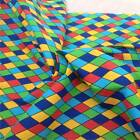 Harlequin Multi Colour Poly Cotton fabric material sold by the metre 115cm wide