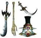 Foam Weapons Halloween Horror Handheld Prop Fancy Dress Toy Accessory
