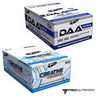 DAA + CREATINE MONOHYDRATE 60-180 Caps Testosterone Booster Anabolic Muscle Gain