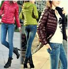 Ladies Good-looking Fall/Winter Thin Slim Candy Color Casual Jacket Overcoat - S